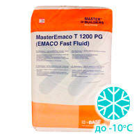 Безусадочная быстротвердеющая смесь MasterEmaco T 1200 PG. Срочный ремонт бетона на холоде.