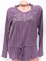 Женские туники-блузы со стразами (48)