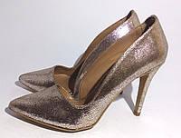 """Стильные туфли для женщин """"Stradivarius"""" с длинным носком"""