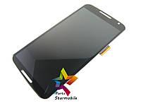 Дисплей для мобильного телефона Nexus 6 Motorola /XT1100/XT1103  , черный, с тачскрином, с рамкой