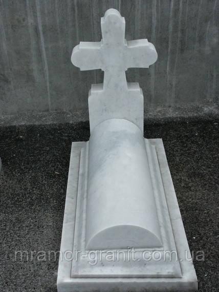 Надгробие с крестом М - 19