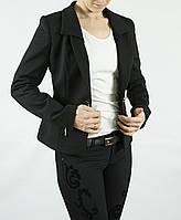 Пиджак черный трикотаж, производство Турция