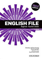 Книга учителя English File 3rd Edition Beginner Teacher's Book & CD-Rom