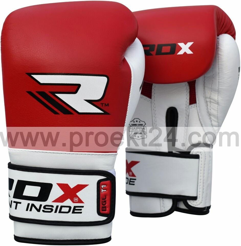 Боксерские перчатки RDX Pro Gel Red-10 oz