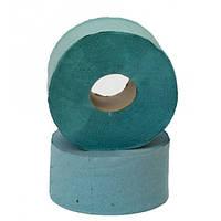 Бумага туалетная макулатурная Джамбо (розовая, зеленая) 90x190/60 150м