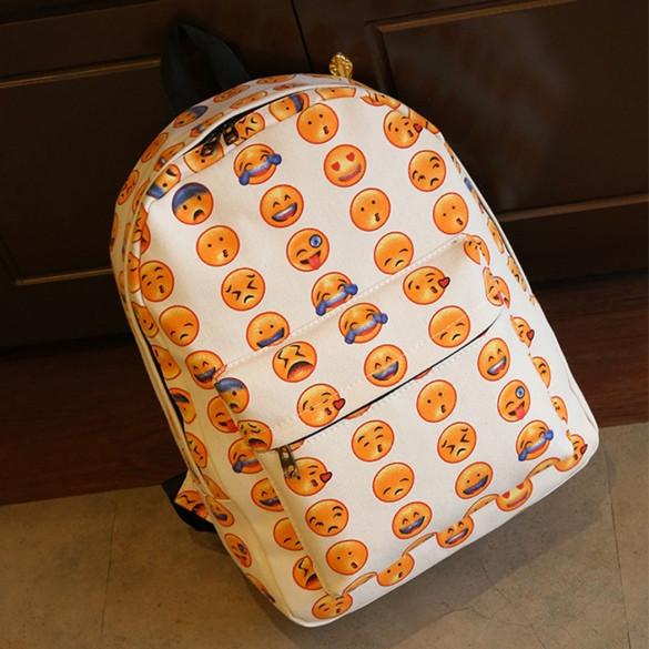 Рюкзак молодежный со смайликами