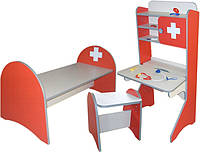 Комплект меблів ігровий ГЕЛІКА ЛІКАРНЯ ДИТЯЧА 13811,13812,13814