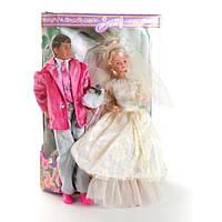 "Набор кукол Жених и невеста 2703 ""Susy"", в коробке 34*25*10 см. Кукла ""Susy"" 2703 + Жених Майк."
