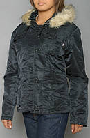 Женская куртка Abby Alpha Industries (черная)