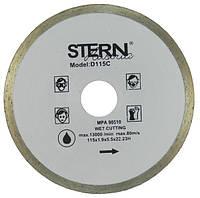 Диск алмазный Stern 115*5*22,2 плитка