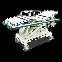 Каталка з гідравлічною системою, платформою для матраца з нержавіючої сталі  НМ 2059 B