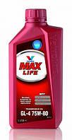 Масло трансмиссионное VALVOLINE Max Life GL-4 75W-80 1л