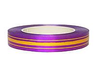Лента флористическая - фиолетовая (2 см х 50 м)
