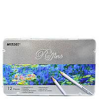 Цветные карандаши Marco 12 цвета Raffine