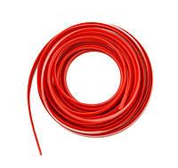 Декоративная молдинг-лента для салона автомобиля 1х5м красная