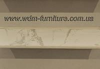 Плинтус кухонный мрамор каррара L=3000, фото 1