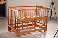 Кузя Ангелина 2 детская кроватка на маятниковом механизме