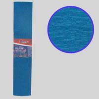 Гофро-папір JO Темно-блакитна 55%, 20г/м2 ,50*200см, KR55-8008