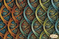 Схема для вышивки бисером Фрактал Бесконечность ТК-066
