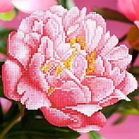 "Схема для вышивки бисером ""Цветок"", 17х17 см"