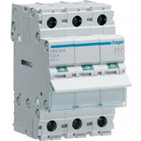 Выключатель нагрузки 3 полюса 125А 400W SBN399 Hager