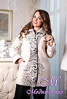 Куртка большого размера женская недорого (р. 48-62) арт. В - 848 Тон 1