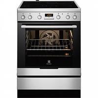 Плита кухонна електрична ELECTROLUX EKC 96450 AX