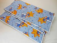 Одеяло стеганное, детское, льнопоновое