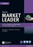 Учебник по деловому английскому Market Leader (3rd Edition) Advanced Course Book + DVD-ROM