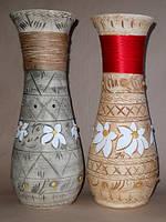 Керамические напольные вазы оптом Осень Лента