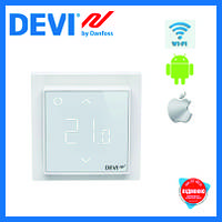 "Терморегулятор DEVIreg™ Smart Wi-Fi  ""белый"""