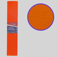 Гофро-папір JO Помаранчевий 55%, 20г/м2 ,50*200см, KR55-8015