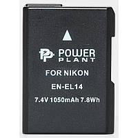 Аккумулятор к фото/видео Nikon EN-EL14 Chip (D3100, D3200, D5100) PowerPlant (DV00DV1290)