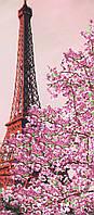 """Схема для вышивки бисером """"Эйфелева башня """", 24х55 см"""