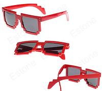 Женские солнцезащитные очки Красные