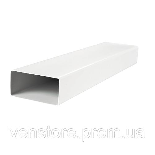 Канал пластиковый плоский 55х110 1м
