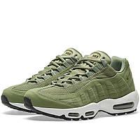 Оригинальные  кроссовки Nike W Air Max 95 Legion Green & Palm Green