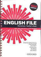 Книга учителя English File 3rd Edition Elementary Teacher's Book & CD-Rom