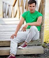 Спортивные мужские штаны с резинкой хлопок