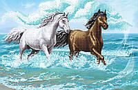 """Схема для вышивки бисером """"Лошади"""", А2"""