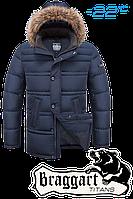 Модная куртка большого размера Braggart Titans 1365A св. синий 56(3XL), 58(4XL), 60(5XL), фото 1