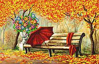 """Схема для вышивки бисером """"Осень"""", А2"""