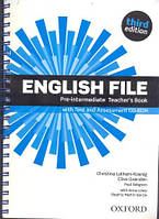English File 3rd Edition Pre-Intermediate Teacher's Book + Test and Assessment CD-ROM
