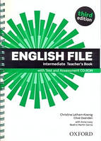 English File 3rd Edition Intermediate Teacher's Book + Test and Assessment CD-ROM