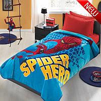 Полуторное покрывало для мальчика ТАС Disney Spiderman Movie, акриловое