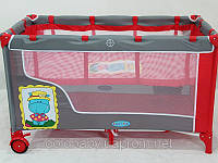 Манеж  BT-016-SLC RED двухуровневый