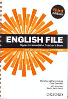 English File 3rd Edition Upper-Intermediate Teacher's Book + Test and Assessment CD-RO
