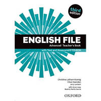 English File 3rd Edition Advanced Teacher's Book + Test and Assessment CD-ROM