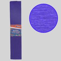 Гофро-папір JO Темно-фіолетовий 55%, 20г/м2 ,50*200см, KR55-8025