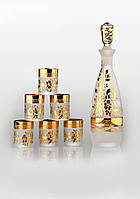 Набор для водки Consul Arabesque gold (6+1)